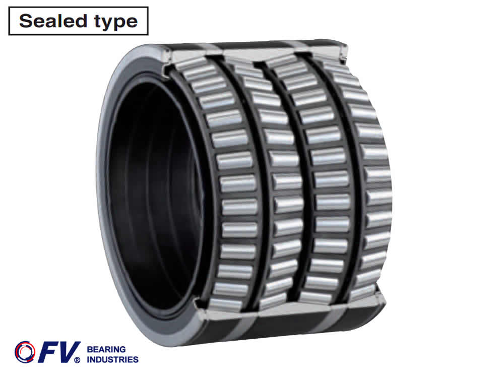Sealed type,Four row tapered roller bearings (Replace Koyo)