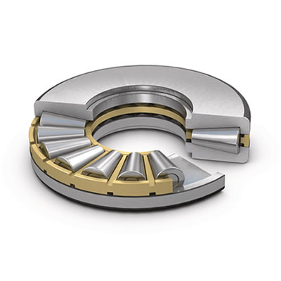Single direction tapered roller thrust bearings